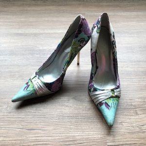 Aldo Prishtine brocade pointy toe heels size 41